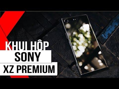 FPT Shop - Mở Hộp Sony XZ Premium phong cách Slow motion độc đáo