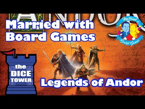 Legends of Andor Review with Married with Board Games