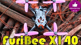 ✔ Интересный FPV Квадрокоптер - FuriBee X140! Летает 7,5+ минут! Gearbest