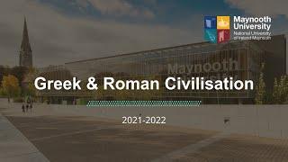 Greek & Roman Civilisation