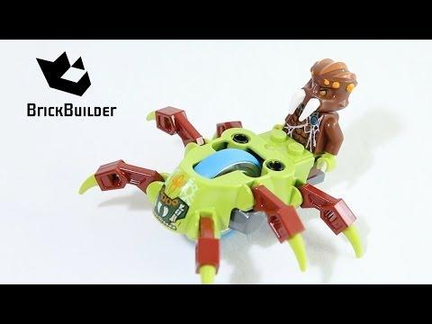 Vidéo LEGO Chima 70138 : La course de l'Araignée