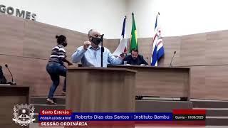 DIREITO DE RESPOSTA - ROBERTO BAMBU FALA NA TRIBUNA DA CÂMARA DE SANTO ESTÊVÃO - INSCREVA-SE NO CANAL