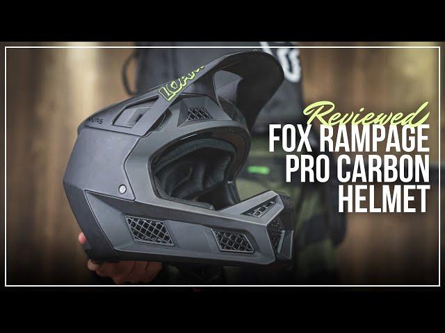 Видео Шлем Fox Rampage Pro Carbon Helmet (Black)
