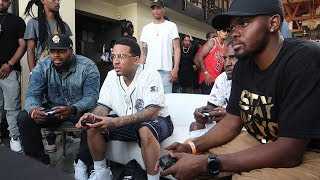 RAPPER VS GAMERS VIDEO GAME TOURNAMENT! | Daily Dose S2Ep280