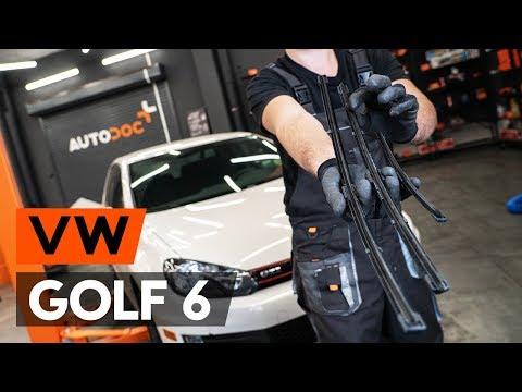 Wie VW GOLF 6 (5K1) Scheibenwischer wechseln [TUTORIAL AUTODOC]
