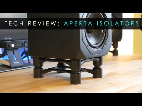 Tech Reviews | Aperta Speaker Stand Isolators | Isoacoustics