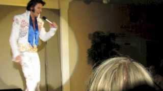 "Chris Connor as Elvis ""Steamroller Blues"""