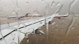 Stormy Dallas/Fort Worth Takeoff – American – Airbus A321-200NX – DFW – N409AA – SCS Ep. 353