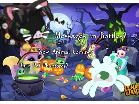 Animal Jam Updates Ep. 17 Volume 184 | MESSAGES IN BOTTLES?!