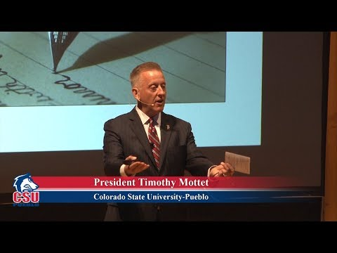 Writing Our Story Together - President Timothy Mottet