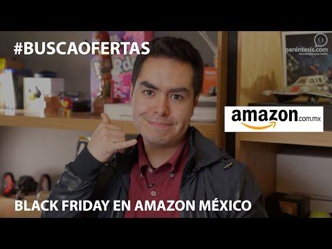 ¡Ya es viernes! Black Friday en Amazon México