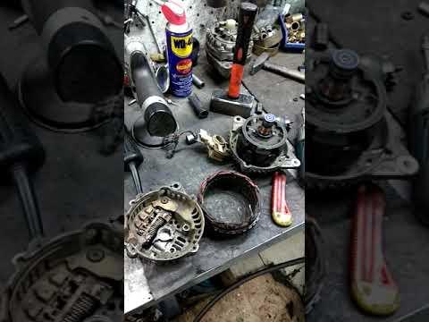 Ремонт генератора Mitsubishi Galant своими руками