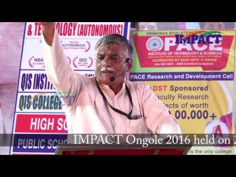 Proud To Be Inidan| Appala Prasad | TELUGU IMPACT Ongole 2016