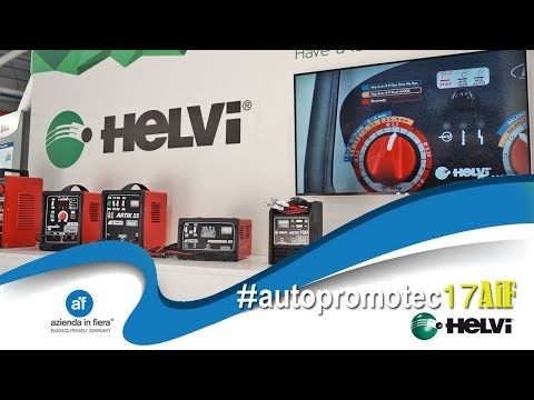Helvi: welder for car body repair and battery charger
