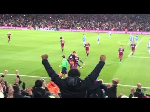 Humillaciones de Messi GRITADAS por el Estadio !