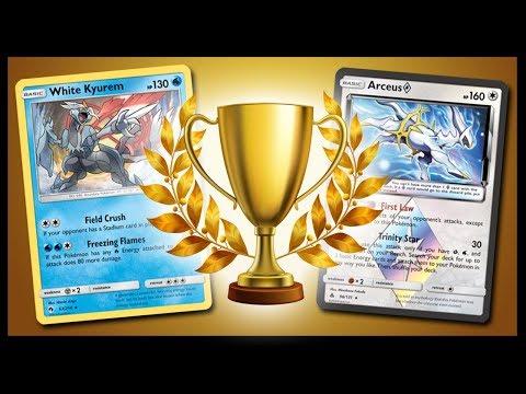 Pokemon TCG Online Tournament - White Kyurem / Arceus Prism