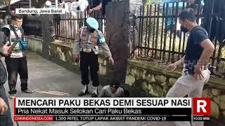 Mencari Paku Bekas Demi Sesuap Nasi | REDAKSI SIANG (23/07/21)