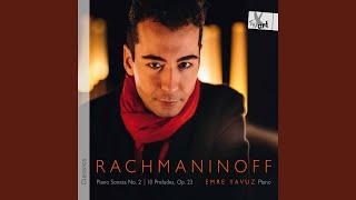 Piano Sonata No. 2 in B-Flat Minor, Op. 36 (1913 Version) : II. Non allegro - IIIa. L'istesso tempo