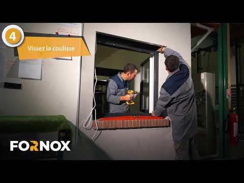 Comment installer son volet roulant de sécurité A2P ? FORNOX