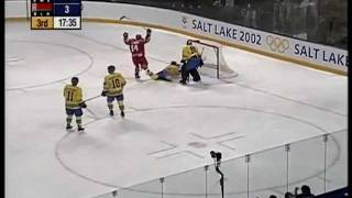 OS2002 Kvartsfinalen Sverige - Vitryssland 3-4
