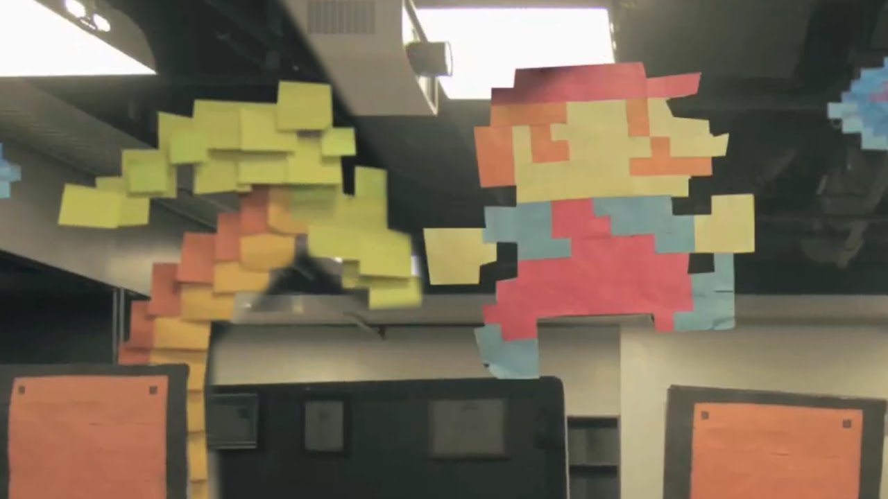 The Greatest Use Of Post-It Notes Ever