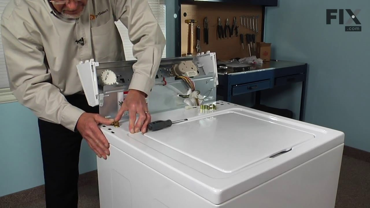 Replacing your Whirlpool Washer Water Inlet Valve with Mounting Bracket