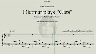 """Dietmar plays """"Cats""""  -  Memory by Andrew Lloyd Webber"""