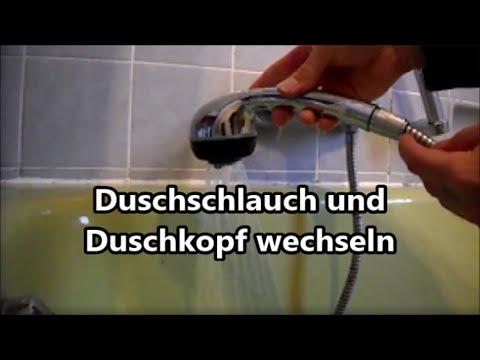 DIY Duschschlauch und Duschkopf wechseln - geht ganz einfach