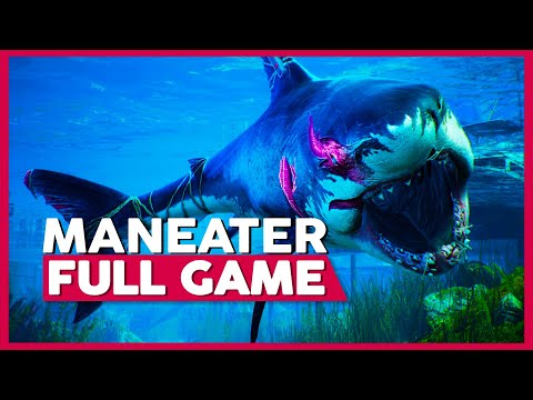Download Maneater   Full Playthrough   No Commentary [PC,Switch,PS4,XB1] (60FPS) Mp4 HD Video and MP3