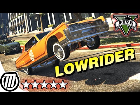 GTA 5 Online: Lowrider DLC Gameplay - HYDRAULICS, JUMPS & CHINO CUSTOMIZATION (PC 1080p)
