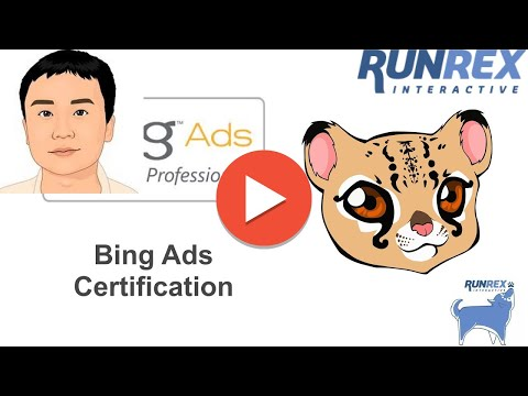 Bing Ads Certification Study Guide P1 - YouTube
