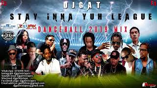 JANUARY 2019 DANCEHALL MIX DJ GAT STAY INNA YUH LEAGUE DANCEHALL MIX FT ALKALINE/VYBZ KARTEL/