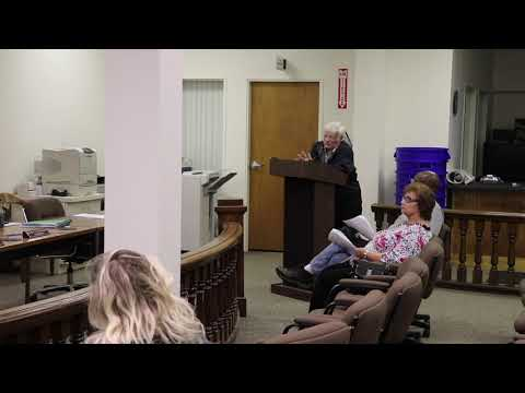 Monessen City Council and Demolition Meeting 10-10-2019