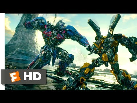 Transformers: The Last Knight (2017) - Bumblebee vs Nemesis Prime Scene (7/10)   Movieclips
