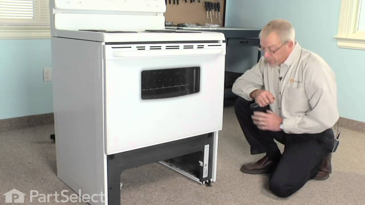 Replacing your Frigidaire Range Front Drawer Glide