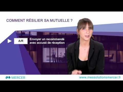 Résilier sa mutuelle santé – Vidéo Mes Solutions Mercer
