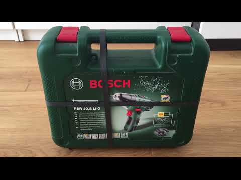 Bosch PSR 10,8 Li-2 Akkuschrauber inkl. Akku und Koffer