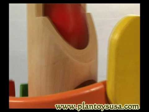 Plantoys wooden toy educational toy 5303 Tower Pounding