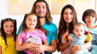 Meet our Family! Family Vlog We Play Would You Rather
