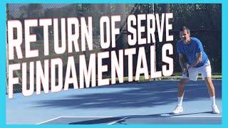 Return Of Serve Fundamentals