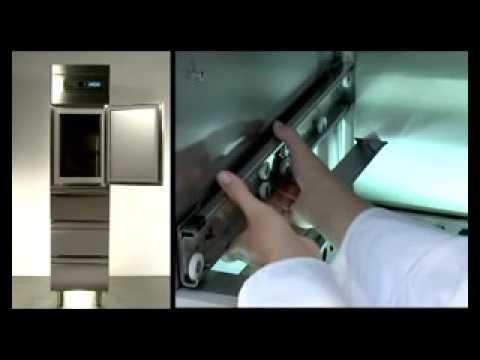 video 1, Armoire à poisson réfrigérée Slim 280 L prof.700