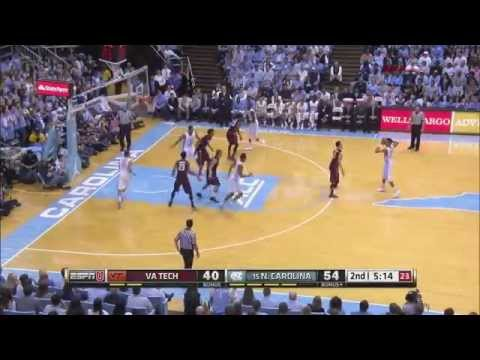 Video: UNC-Virginia Tech Game Highlights