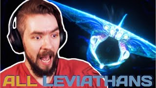 JACKSEPTICEYE Reacts To EVERY LEVIATHAN In Subnautica