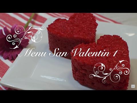 Menu San Valentin | Arroz al Microondas | Recetas para San Valentin | Menu para San Valentin