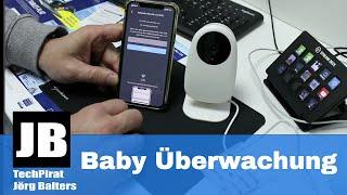 Nooie Überwachungs- Wlan- Kamera (1080P) im Test mit unboxing die ideale Babycam