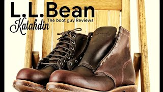 L.L.Bean Katahdin| Built By Chippewa,USA [ The Boot Guy Reviews ]
