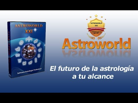 Astroworld XXI - Software de astrología profesional