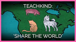 Share the World - PETA educates your kids on Animal Welfare