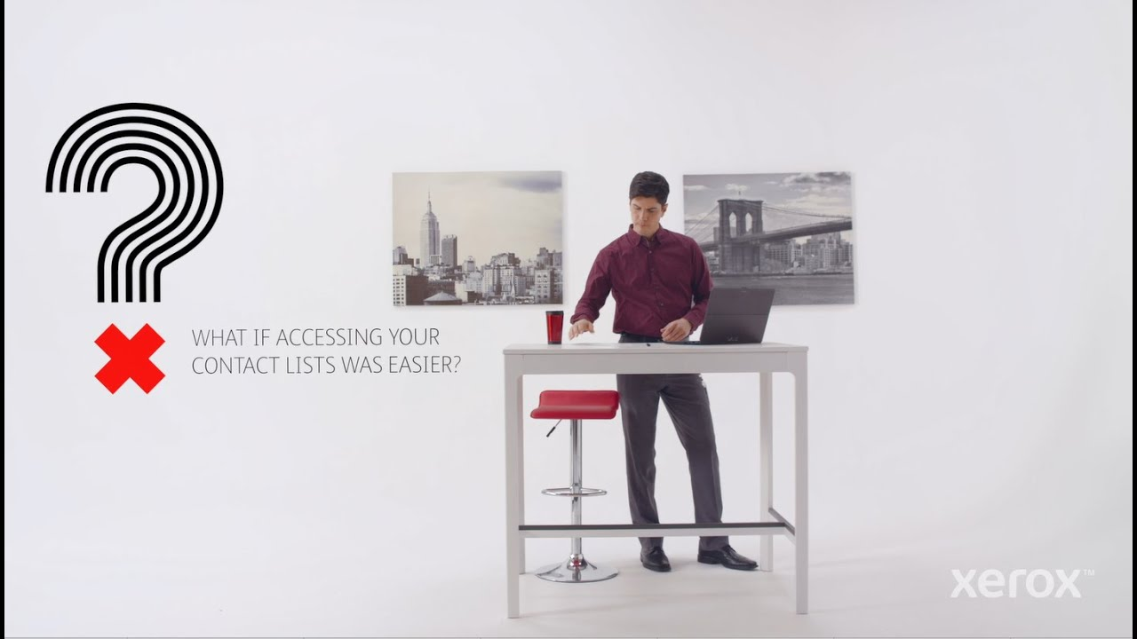 Appli Xerox® Connect pour Exchange Online YouTube Vidéo