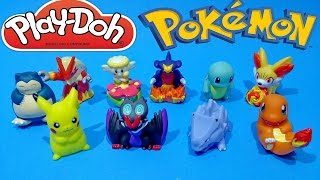 Pokemon Play Doh Surprise Eggs Unboxing Toys Video Opening For Kids Worldwide ★ ポケットモンスター おもちゃ